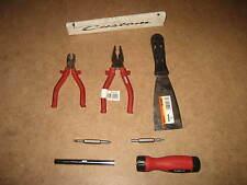 Profi Werkzeug Set Werkstatt Heimwerker 7 teilig mit Seitenschneider u Zange 115