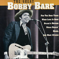 BARE, BOBBY-GREAT -14 TR.- (UK IMPORT) CD NEW