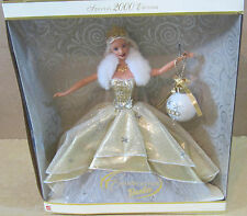 2000 Celebration Happy Holiday Barbie Special Edition 1st In Series Box Wears A2