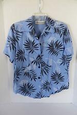 Womens Gloria Lance Light Blue Layered Blouse Size M