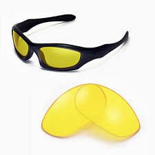 New Walleva Yellow Replacement Lenses For Oakley Monster Dog