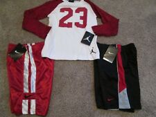 NEW 3Pc NIKE Boys School/Play OUTFIT 2 Shorts+Nike Air Jordan L/s 4 FREE SHIP!