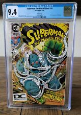 Superman The Man of Steel #18 (1992) CGC 9.4 1st Doomsday 5th Print Rare DC Logo