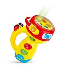 Spin and Learn Color Flashlight Toy Toddler Learning Infant Baby Kid New YZ