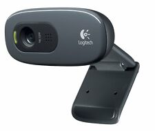 Logitech C270 Webcam, HD 720p Widescreen for Video Calling and Recording