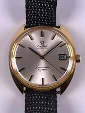 Vintage OMEGA Seamaster Cosmic Automatic Datum vergoldet 1960's Swiss Made