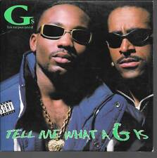 CD SINGLE 2 TITRES--GS INCORPORATED--TELL ME WHAT A G IS--1997