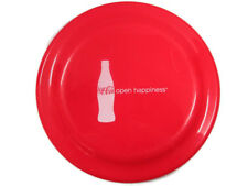 """Coca-Cola  Red Frisbee NOS """"Open Happiness""""-9 inches FREE SHIPPING"""