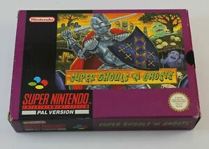 Super Ghouls N Ghosts (SNES)