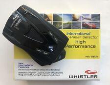 Whistler PRO-68XRi Radar Detector !!!FREE SHIPPING!!!
