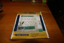 """Home Creations  Fabric Shower Curtain  70""""x 72""""~New~ATHENA EMERALD"""