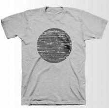 Interpol-Woodcut Logo-X-Large Gray T-shirt