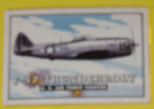 1952 Wings F-47 Thunderbolt U. S. Air Force Fighter Card # 18 See!
