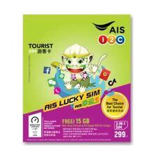 AIS Traveller Thailand Tourist 3GB/8 Days 4G/15G Voice Data PAYG Prepaid SIM