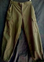 Trousers Pants Oliva Austria Army Combat Field Camouflage Small-Short  Size XS