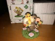 """Charming Tails """"CAN I KEEP HIM""""  RETRO DEAN GRIFF NIB EASTER CHICK 🐥"""