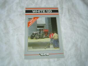 White 120 tractor brochure