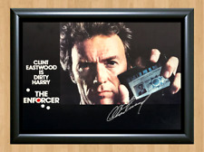 Clint Eastwood Dirty Harry Signed Autographed A4 Photo Poster Poster Memorabilia