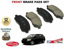 FOR DODGE CALIBER 1.8i 2.0i 2.0DT 4/2006>ONWARDS FRONT BRAKE DISC PADS