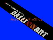 53inch Mitsubishi Ralliart Windshield Decal Sticker Banner Sunstrip Sunvisor Evo