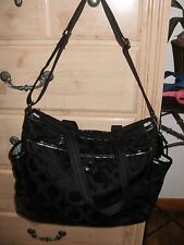 COACH BLACK #16975 LARGE DIAPER BAG