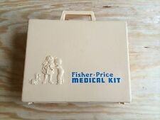 Rare Vintage 1977 Fisher Price Doctor/Nurse Playset In Good Condition! #936 Htf!