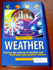 BRAND NEW!  Weather Inventor's Handbook and KIT by Tim Walker (2002, Hardcover)