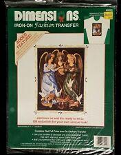 Vintage 1992 Dimensions Heavenly Angels Iron On Transfer 80020 - NIP