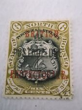 1902 North Borneo opted Postage Due m/m SG D40 G16A
