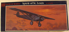 "USA Ryan NYP ""Spirit of St. Louis"", 1/48 Glencoe kit 03101, 1988, Airplane Model"