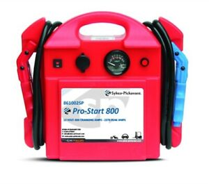 Sykes Pickavant Pro-Start 800 Battery Booster & Free Accusmart 861002sp