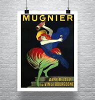 Mugnier Vintage Leonetto Cappiello Liquor Poster Giclee Print Canvas or Paper