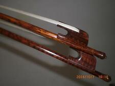 2 PCs High Quality Snake Wood Cello Bow Baroque Cello Bow 4/4