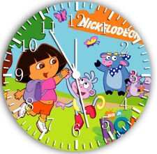 Dora the Explorer Frameless Borderless Wall Clock Nice For Gifts or Decor W18