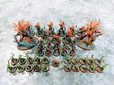 Warhammer Age of Sigmar AoS Professionally Painted Wood Elf Elves Sylvaneth Army