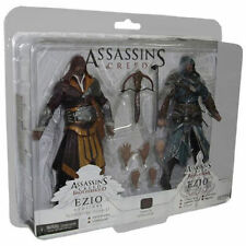 "ASSASSIN'S CREED - Ezio Auditore 7""Action Figure 2-Pack (NECA) #NEW"