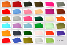 "Sticky Back Self Adhesive Acrylic Felt Fabric 9"" x 12"" Rectangle (FFELT912-AD..."
