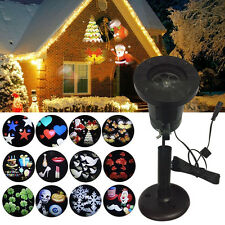 Snowflake Projector Indoor/Outdoor Christmas Lights | eBay