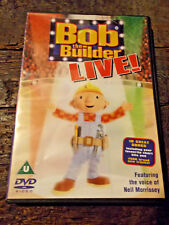 * BOB THE BUILDER LIVE! FEATURING VOICE OF NEIL MORRISSEY (DVD, 2002)