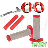 RFX Handle Bar Grips Donuts & Silicone Lever Sleeves Honda CR 80 85 125 250 500