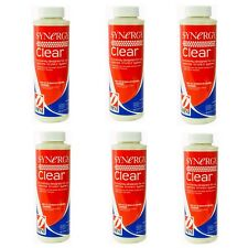 Synergy Clear Pool Chemical Contains Multiple Oxiders, Clarifiers - 6 Pack