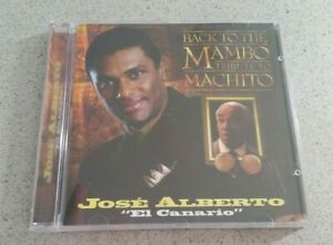 Jose Alberto - Back to the Mambo: Tribute to Machito (CD, 1997) RARE LATIN SALSA