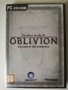 The Elder Scrolls IV Oblivion 5th Anniversary Edition PC Game New Sealed
