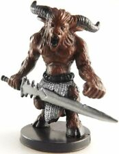 D&D Mini -  YOUNG MINOTAUR #59   (Archfiends Series - HARD TO FIND and UNUSED!!)