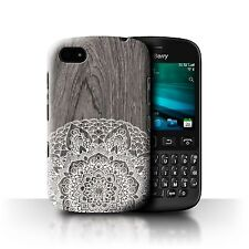 STUFF4 Phone Case for Blackberry Smartphone/Fine Lace Wood/Protective Cover