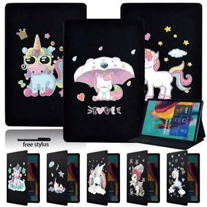 """Folding Stand Case Cover Fit Samsung Galaxy Tab A A6 7.0 9.7 10.1 10.5 / E 9.6"""""""