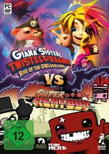 Clash of Games - Giana Sisters vs Super Meat Boy Pc New + Ovp