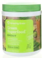 Amazing Grass Green Superfood Energy LEMON LIME FLAVOR 7.4