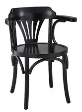 Home Office Desk Navy Chair Black Finish 307 Wooden Nautical Decor Furniture