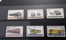 Berlin 1971rail transport set of 6  fine used stamps